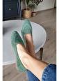 Topukla Kadın Ip Örgü Babet 79 222 Yeşil
